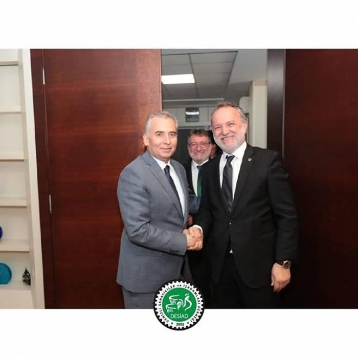 Denizli Büyükşehir belediye başkanı Sayın Osman Zolan Ziyareti