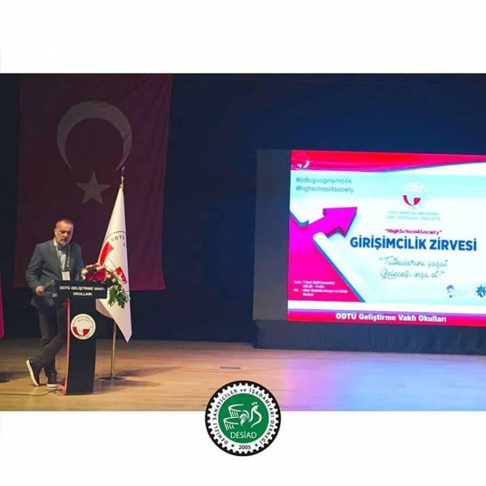 Girişimcilik Zirvesinde Başkanımız İ. Okan Konyalıoğlu Açılış Konuşması Yaptı