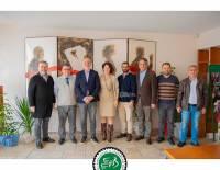 Gazeteciler Cemiyeti Balkanı Sn. Muhammet Karaçay'ı Ziyaret