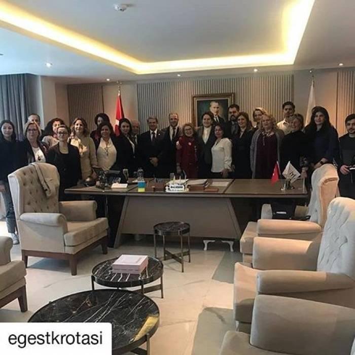 Daha Güçlü Sivil Toplum İçin Rota Ege Bölgesi Projesi Temsilcileri ile Ankara Ziyareti