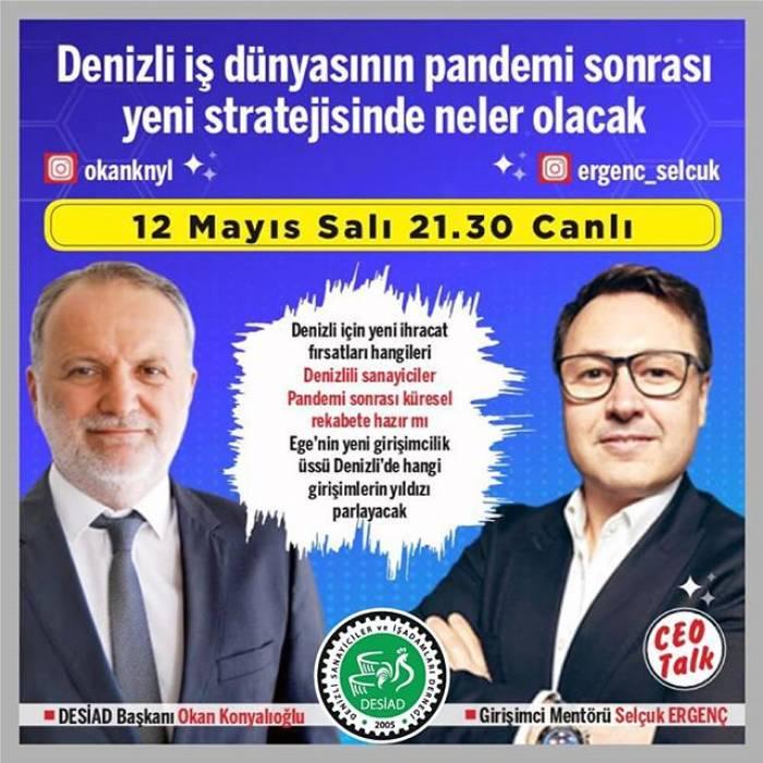 Başkanımız Sn.Selçuk Ergenç'in Instagram platformunda canlı yayın konuğu oldu.