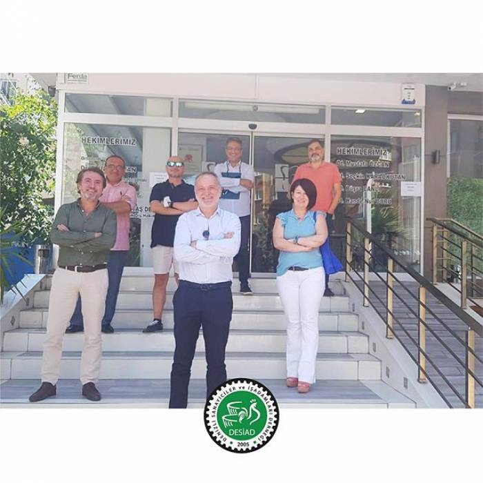 Sayın Mustafa Özcan'ı ziyaret ettik.