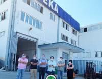 Deka Tekstil ve Kuruyemiş firma sahibi Sayın Erhan Derici'yi ziyaret ettik.