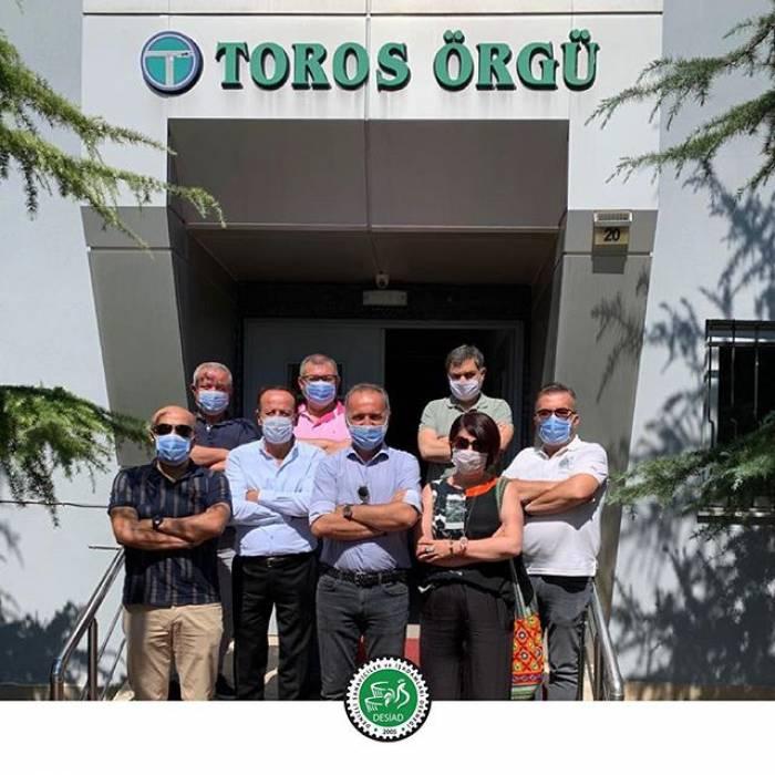 Toros Örgü Aksesuar ve Tekstil firma sahibi Sayın Mustafa Kabukçu'yu ziyaret ettik.