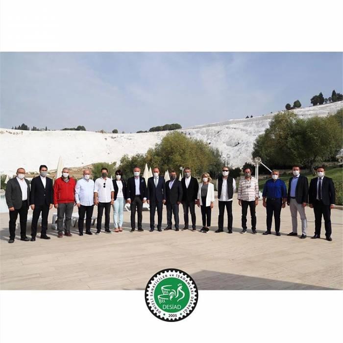DESİAD Yönetim Kurulu ve üyeleri olarak, Pamukkale Belediye Başkanı Sayın Avni Örki'ye ziyaret gerçekleştirdik.