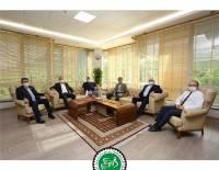 DESİAD Yönetim Kurulu Pamukkale Üniversitesi Rektör Ziyareti