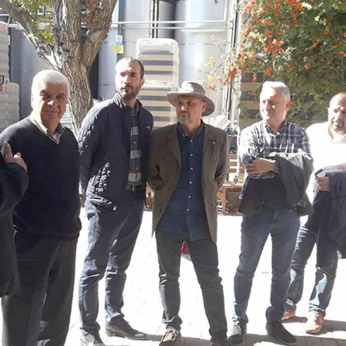 DESİAD Yönetim Kurulu ve üyeleri Pamukkale Şarapları'nı ziyaret etti.