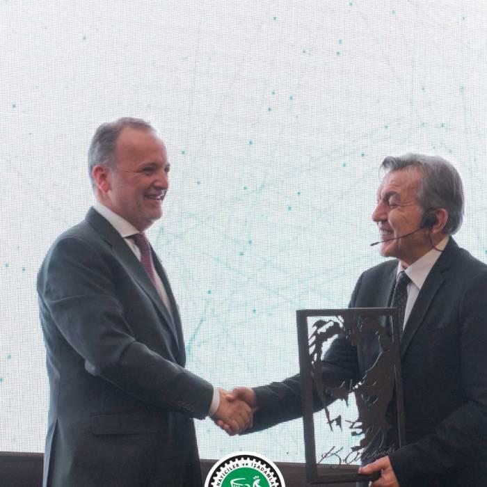 Anadolu 500 Yereldeki Yüzümüz Plaket Töreni