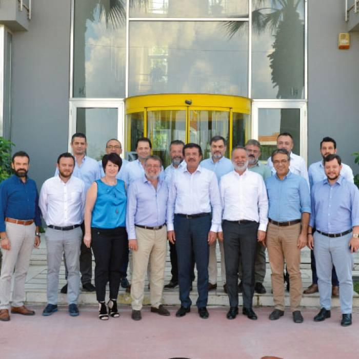 Ekonomi Eski Bakanı Sayın Nihat Zeybekci ile Birlikte Gerçekleştirdiğimiz Erikoğlu Holding Ziyareti