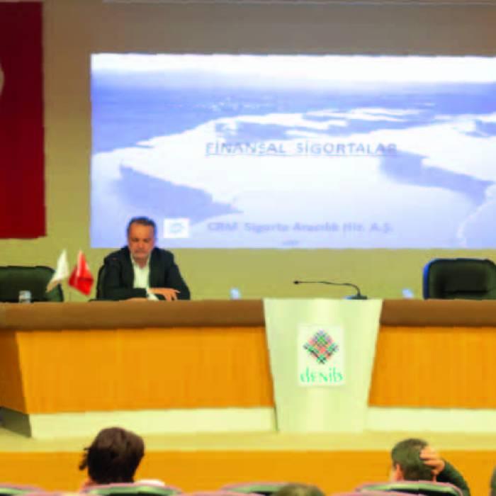 'Finansal Sigortalar - Kefalet Sigortası - Devlet Destekli Kobi Alacak Sigortası'' konulu konferans
