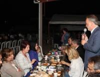 Acıpayam İlçesi Ucarı Köyü'nde iftar yemeği