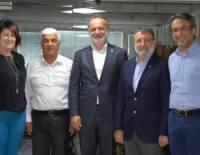 DESİAD Yönetim Kurulu'nun Denizli Sanayi Odası Başkanı Sayım Müjdat Keçeci'yi Ziyareti