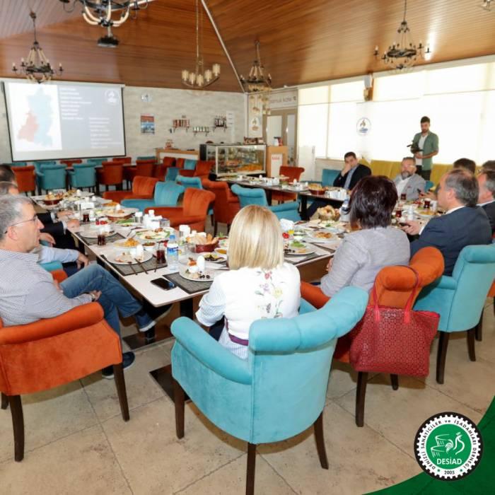 Pamukkale Belediye Başkanı Hüseyin Gürlesin'i Ziyaret