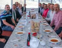Adnan Kaçar'ın iş yeri Hidrobarsan'ı Ziyaret