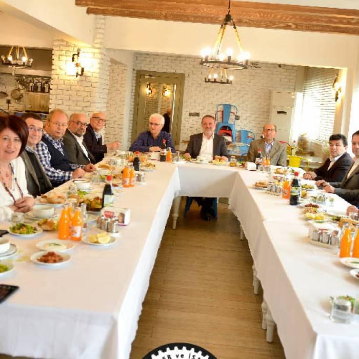 Atateks Ata Tekstil'de gerçekleşen geleneksel öğle yemeği