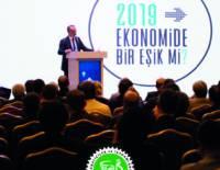 ''2019 Ekonomide bir eşik mi? konulu konferans