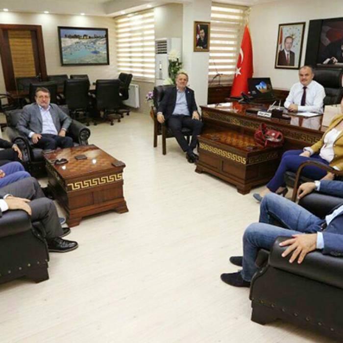 Denizli Pamukkale Belediye Başkanı Sayın Hüseyin Gürlesin'i Ziyaret