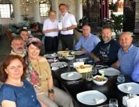 Sayın Cengiz Akhisar ile Öğle Yemeği ve Plaket Töreni