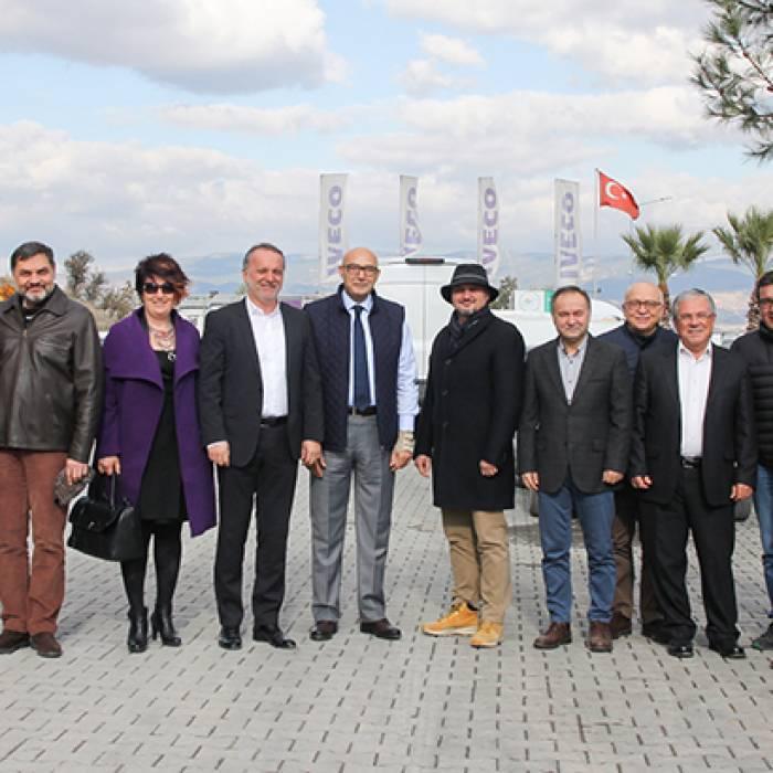 Üyemiz Ali Şahin'i Ziyaret