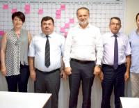 Denizli Vergi Dairesi Başkan Vekili Sayın Hasan Öztaş ve Gelir İdaresi Grup Müdürü Sayın Yusuf Malkoç'un Derneğimizi Ziyareti