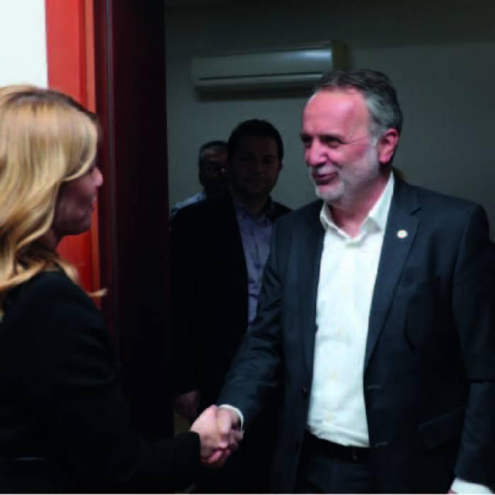 Merkezefendi Belediye Başkanı Sayın Şeniz Doğan'ı ziyaret