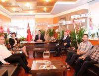 Denizli İhracatçılar Birliği Başkanı Hüseyin Memişoğlu'nu Ziyaret