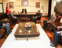 Denizli Büyükşehir Belediye Başkanı Sayın Osman Zolan'ı Ziyaret